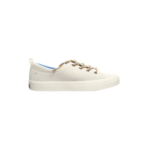 Sperry Top Sider Womens Top-Sider Crest Vibe Snow White Fashion Sneaker Size 5