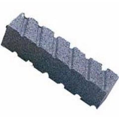"""Norton 87845 Rubbing Brick, Fluted, Extra Coarse, 8"""" x 2"""" x 2"""""""