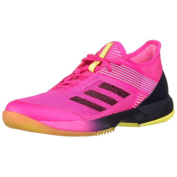 8ad18a38443 Shop adidas Women s Adizero Ubersonic 3 Tennis Shoe - Free Shipping Today -  Overstock - 27567701
