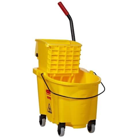 Rubbermaid Mop Bucket & Wringer Combo, 26 Qt