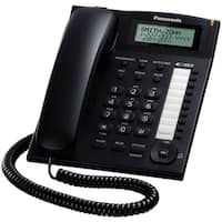 Panasonic(R) - Kx-Ts880b - 1Ln Phn W/ 1Tch Dial Blk