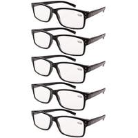 Eyekepper Reading Glasses 5-Pack Vintage Readers