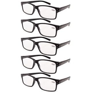 Eyekepper Reading Glasses 5-Pack Vintage Readers