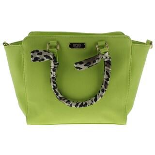 BCBG Paris Womens Satchel Handbag Faux Leather Animal Print (5 options available)