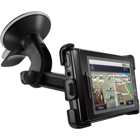 Motorola Droid A855 and Milestone A854 Dock Vehicle Cradle with Windshield Mount