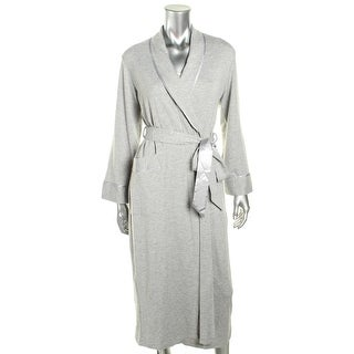 Jones New York Womens Long Robe French Terry Heathered - S/M