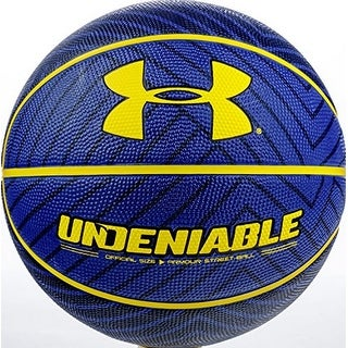 Under Armour Unisex Undeniable Basketball, Blue/Black
