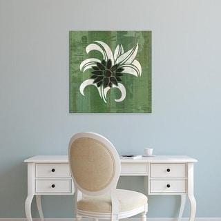 Easy Art Prints James Burghardt's 'Glyphic Tiles III' Premium Canvas Art