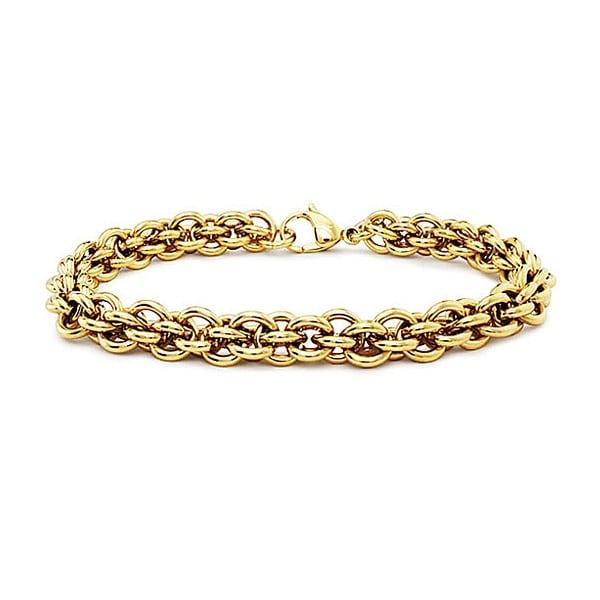 Gold Plated Stainless Steel Women's Bracelet