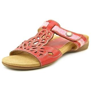 L'Artiste by Spring Step ulrana Open Toe Leather Slides Sandal