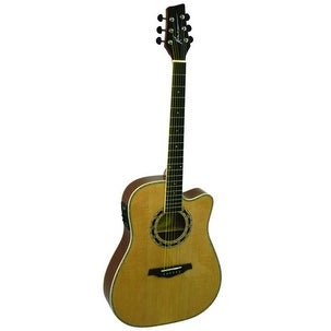 Kona Thin Body 41in Acoustic Guitar