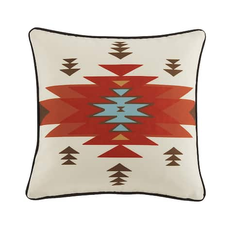 HiEnd Accents Del Sol Outdoor Pillow, 20x20