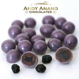 Andy Anand Dark Chocolate Blueberries Gift Box 1 lbs