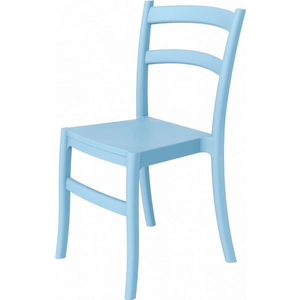 Compamia Tiffany Outdoor Dining Chair Set of 2 - Light Blue - Light Blue
