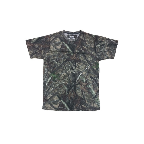e731f7133df52 Camo Hunting Short Sleeve T-Shirt Camouflage Authentic True Timber S-5XL