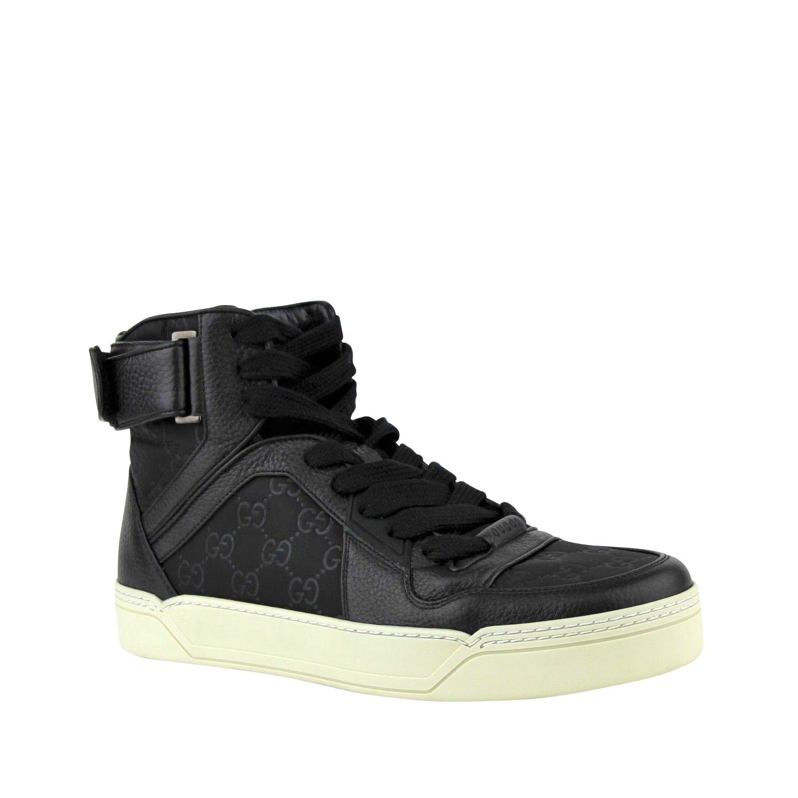 gucci mens high top sneakers