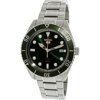 Seiko Men's SRPB93K Silver Stainless-Steel Automatic Diving Watch
