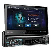 "Power Acoustik 7"" Single Din Receiver With Bluetooth"