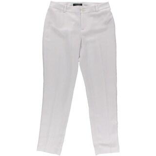 Lauren Ralph Lauren Womens Crepe Lined Dress Pants