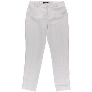 Lauren Ralph Lauren Womens Dress Pants Crepe Cropped