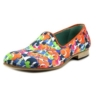 Never Ever Pesci Round Toe Synthetic Loafer