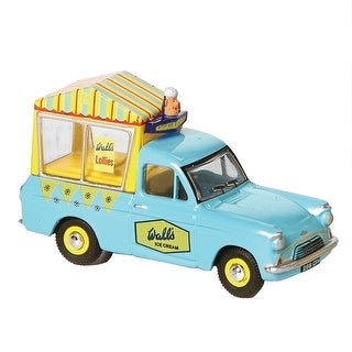 Unisex-Adult Vintage British Ice Cream Trucks: Wall's - Die Cast Metal Collectable - MultiColor