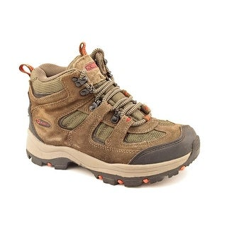 Nevados Boomerang II Mid Women W Round Toe Suede Brown Hiking Shoe