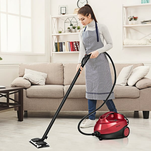 Shop Costway 2000w Heavy Duty Steam Cleaner Mop Multi Purpose W 19