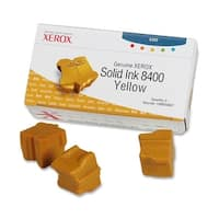 Xerox 108R00607 Xerox Yellow Solid Ink Stick - Yellow - Solid Ink - 3400 Page - 3 / Box