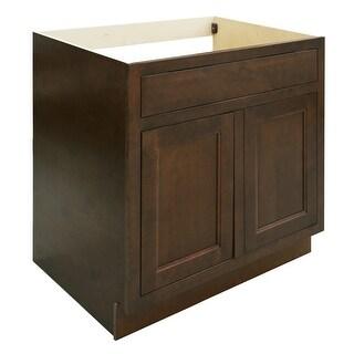 """Healdsburg 33"""" Double Door Sink Base Cabinet - N/A"""