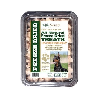 Healthy Breeds Doberman Pinscher Chicken Freeze Dried Treats