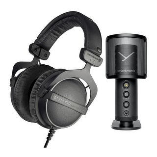 Link to Beyerdynamic DT 770 PRO Limited Edition Bundle with Studio Microphone Similar Items in Headphones