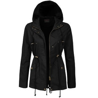 NE PEOPLE Womens Military Anorak Jacket (NEWJ129)
