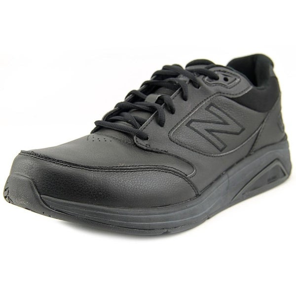 New Balance MW928 Men 4E Round Toe Leather Black Walking Shoe