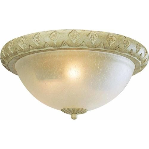 Volume Lighting V7443 Alexandria 2 Light Flush Mount Ceiling Fixture