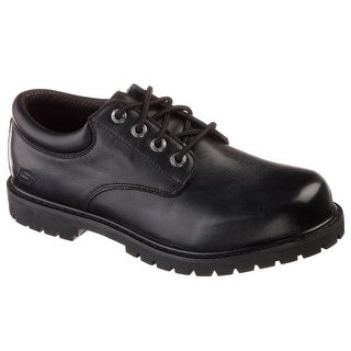 Skechers 77041 BLK Men's COTTONWOOD-ELKS SR Work