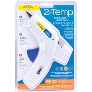 White - Multi-Temp Cordless Glue Gun