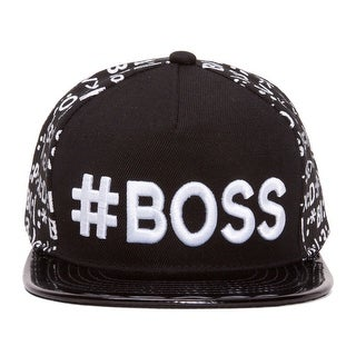 #BOSS Emoticon Polished Bill Snapback