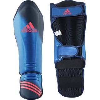 Adidas Super Pro Speed MMA Shin Instep Guards - Metallic Blue/Collegiate Navy - 2Xl