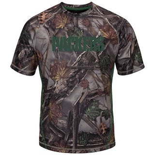 """Green Bay Packers Majestic NFL """"The Woods"""" Men's Camo Short Sleeve T-Shirt"""