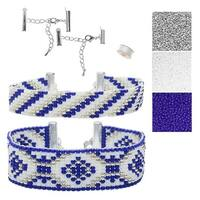 Refill - Rockwell Loom Bracelet Duo - Exclusive Beadaholique Jewelry Kit