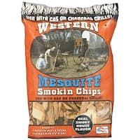 Western 78074 Wood Smoking Chip, Mesquite, 2-1/4 Lb