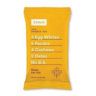 Rxbar Protein Bar; Maple Sea Salt - (Case of 12 - 1.83 oz)