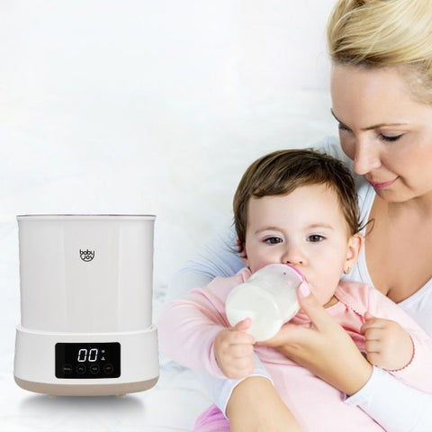 Babyjoy Multifunctional Baby Bottle Electric Steam Sterilizer Dryer Machine LED Display