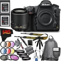 Nikon D850 DSLR Camera (Body Only) 1585 International Model + Nikon AF-S DX NIKKOR 55-200mm f/4-5.6G ED VR II Lens Bundle