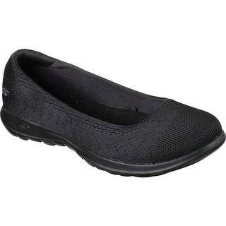 Skechers Women's GOwalk Lite Skimmer Black/Black