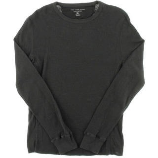 Private Label Mens Waffle Long Sleeves Thermal Shirt