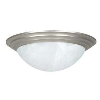 """Sunset Lighting F7164 3 Light 180 Watt 16"""" Wide Flush Mount Ceiling Fixture"""