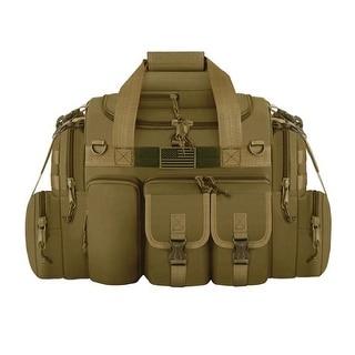 RTD822 TAN Tactical Multi Pocket 22in Duffel Tan