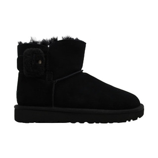 Link to Ugg Womens mini bailey fluff buckle Fabric Almond Toe Ankle Fashion... Similar Items in Women's Shoes